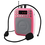 Supersonicc93598433M Bluetooth Portable PA System - Pink
