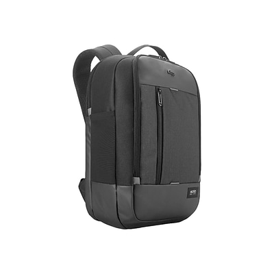 Solo New York Laptop Backpack, Solid, Black (GRV700-4)