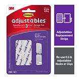 Command™ Adjustables™ Repositionable Mini Refill Strips, 18 Strips/Pack (17820-18ES)