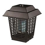 Serene Life 93599487M Waterproof Bug Zapper, Indoor/Outdoor Electric Plug-in Pest Control, Chemical-