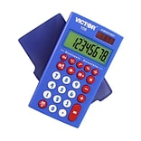 Victor 108TK 8-Digit Pocket Calculator, Multicolor