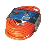 Coleman Cable 50 General Purpose Extension Cord, 1-Outlet, Orange (02308)