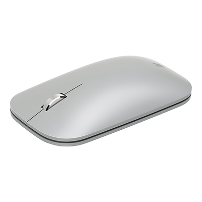 Microsoft Surface Mobile KGZ-00001 Wireless Bluetrack Mouse, Platinum