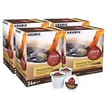Java Roast Breakfast Blend Coffee, Keurig® K-Cup® Pods, Light Roast, 96/Carton (52967CT)