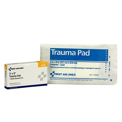 First Aid Only 5 Sterile Trauma Pad (AN205)