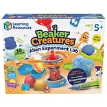 Learning Resources Beaker Creatures Alien Experiment Lab, Assorted Colors, 18 Pieces/Set (LER 3830)