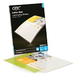 GBC SelfSeal Self-Adhesive Sheets, Letter, 50/Pack (3747307)