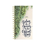 2020 TF Publishing 3.5 x 6.5 Planner, Green Day, Multicolor (20-7537)