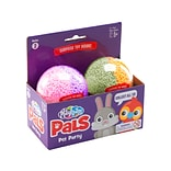 Playfoam Pals Pet Party Collectible Toys Set, Assorted Colors, 2/Pack (1966)