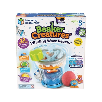 Learning Resources Beaker Creatures, Assorted Colors, 12 Pieces/Set (LER 3819)