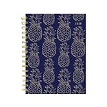 2020 TF Publishing 6.5 x 8 Planner, Navy Pineapple, Multicolor (20-9243)