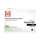 TRU RED™ Canon 126 (3483B001) Black Remanufactured Standard Yield Toner Cartridge
