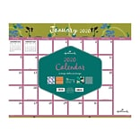 2020 TF Publishing 17 x 22 Desk or Wall Calendar, 12 Unique Hallmark Designs, Multicolor (20-8145)