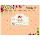 2020 TF Publishing 17 x 22 Desk or Wall Calendar, Multicolor (20-8099)