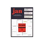 TF Publishing 12 x 9 Desk or Wall Calendar, BOLD MOVES COLLECTION, Multicolor (99-4400)