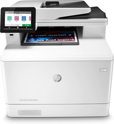 HP LaserJet Pro M479fdn Network Color Laser Multifunction Printer with Duplexing (W1A79A)