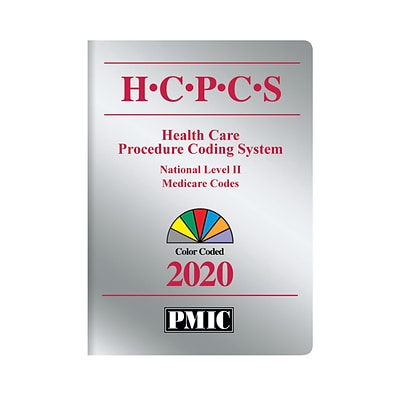 PMIC HCPCS 2020 Coders Choice, Perfect Bound