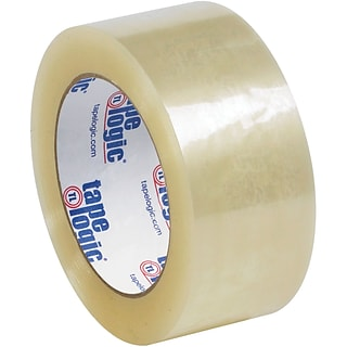 Tape Logic® #126 Quiet Carton Sealing Tape, 2.6 Mil, 2 x 110 yds., Clear, 6/Case (T9021266PK)
