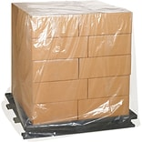 Pallet Covers, 3 Mil, 52 x 48 x 130, Clear, 35/Case (PC181)