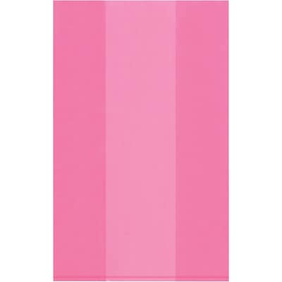 Anti-Static 2 Mil Gusseted Poly Bags, 24 x 20 x 48, Pink, 100/Case  (PBAS2515)