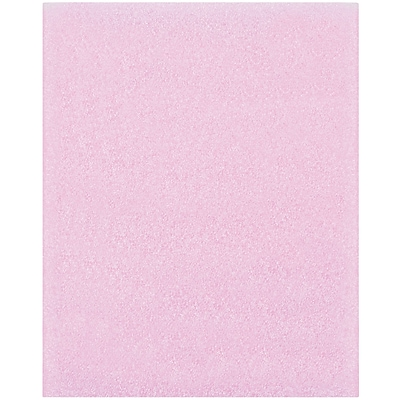 Partners Brand Anti-Static Flush Cut Foam Pouches, 8 x 10, Pink, 275/Case (FP810AS)