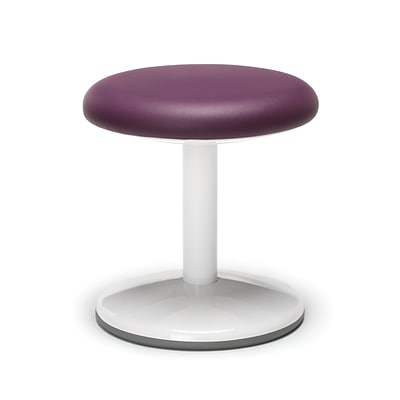 OFM Orbit Series Student Height Stool 14 Inch High - Vinyl Purple (2814-STA-V-PUR)