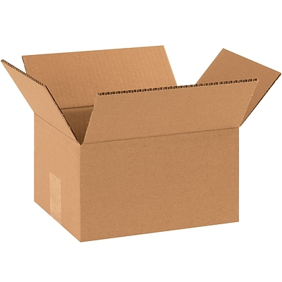 Double Wall Boxes, 10 x 8 x 6, Kraft, 15/Bundle (HD1086DW)