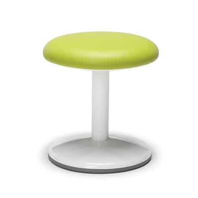 OFM Orbit Series Student Height Stool 14 Inch High - Vinyl Green (2814-STA-V-GRN)