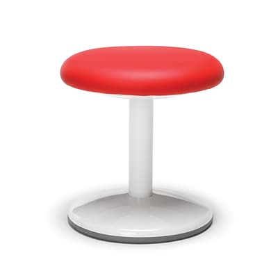 OFM Orbit Series Student Height Stool 14 Inch High - Vinyl Red (2814-STA-V-RED)