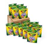Crayola Ultra-Clean Washable Large Crayons, 12 Packs of 16/Pack (52-4600)