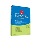 Intuit TurboTax Business Fed and E-File 2019 for 1 User, Windows, CD w/ Download (607294)