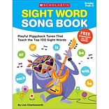 Scholastic Sight Word Song Book (SC-831709)