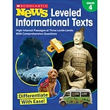 Scholastic Grade 4 Scholastic News Leveled Informational Texts (SC-828474)