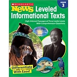 Scholastic Grade 3 Scholastic News Leveled Informational Texts (SC-828473)