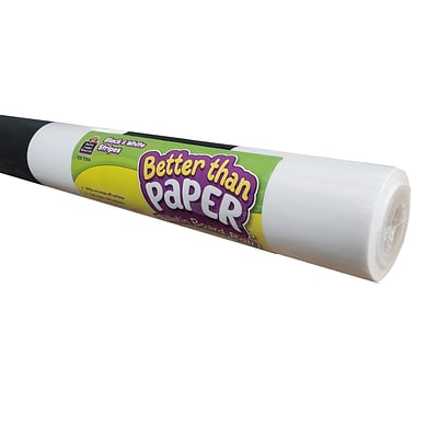Teacher Created Resources Black & White Stripes Better Than Paper Bulletin Board Roll, 4/Carton (TCR32326)