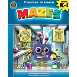 Practice to Learn: Mazes for Grades K–1 (TCR8211)