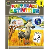 Practice to Learn: First Grade Activities for Grade 1 (TCR8223)