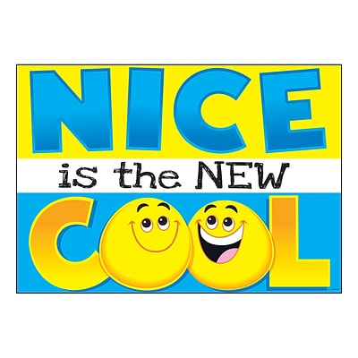 Trend 13.375 x 19 NICE is the NEW COOL ARGUS® Poster (T-A67092)