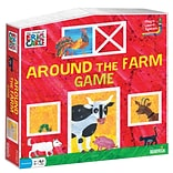 Briarpatch The World of Eric Carle Around the Farm Game, Ages 3+ (UG-01259)
