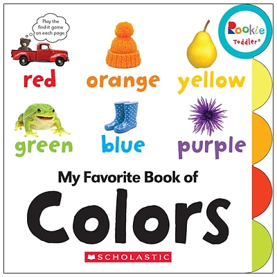 Rookie Toddler My Favorite Book of Colors by Janice Behrens, Board Book (9780531226858)