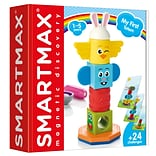 SmartMax My First Totem STEM Magnetic Discovery Building Game with Tactile and Rattling Parts, Ages
