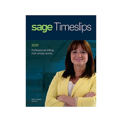 Sage Timeslips 2020 for 5 Users, Windows, Download (TS20205ULESDCSRT)