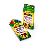 Crayola Colored Pencils, Watercolor, 24/Box (68-4304)