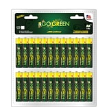 GoGreen Power Alkaline AA 48pk Batteries