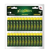 GoGreen Power Alkaline AAA 48pk Batteries