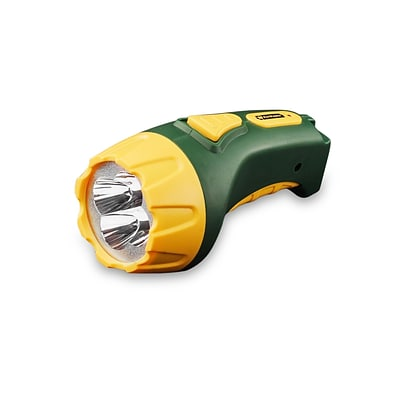 GoGreen Power 4 LED Rechargeable Flashlight, Green (GG-113-04RC)
