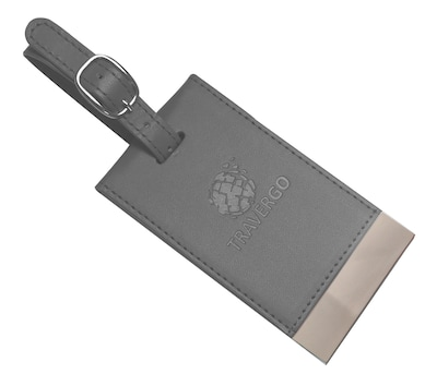 Travergo Magnetic Luggage Tag, Gray (TR1260GY)