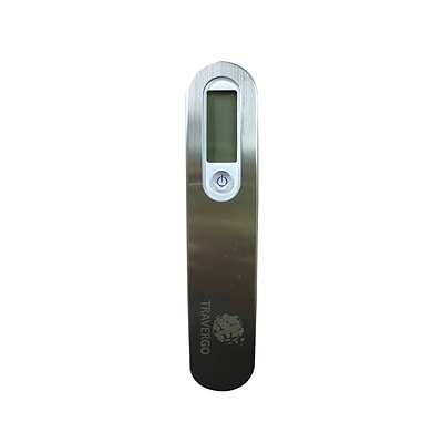 Travergo Digital Scale with Buckle Clasp, Silver TR1340SV