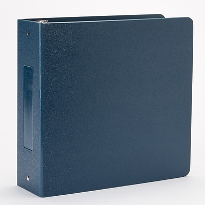 Omnimed Heavy Duty 3 Ring Tri- Polymer Binder (205022-GY)