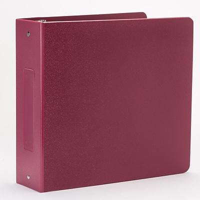 Omnimed Heavy Duty 3 Ring Tri- Polymer Binder Burgandy (205022-BU)